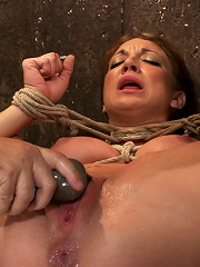 Amy Brooke is brutally orgasmed to near hysteria THE LIGHT ARE ON BUT SHES NOT HOME!