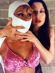 Erotic Blond in BDSM