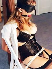Hot Blonde in BDSM