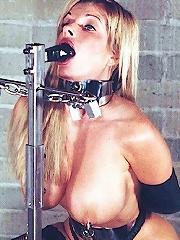 Blonde Babe in BDSM