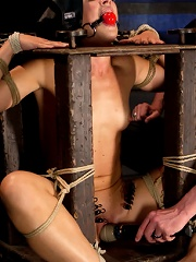 Dylan Ryan Day 3Facing Fears with Extreme Binds and Pussy Stretching