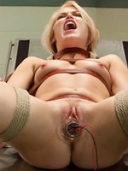 Sadistic Therapy Delusional Patient gets Harsh Sexual Treatment