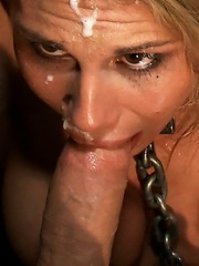 Big Boob Blonde Pornstar gets Ass Fucked in Public